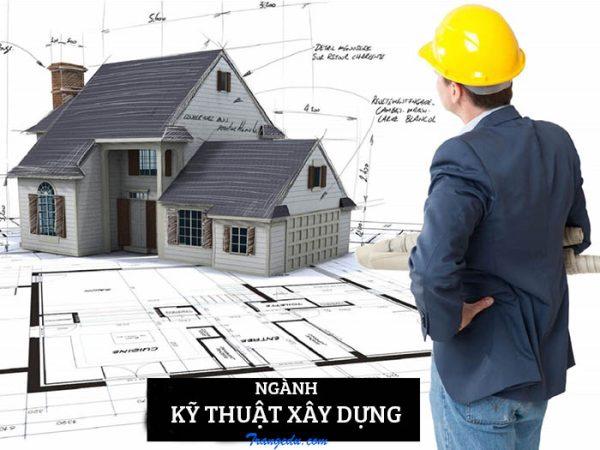 mã ngành kỹ thuật công trình xây dựng