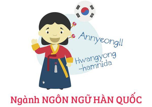 ngành ngôn ngữ Hàn Quốc